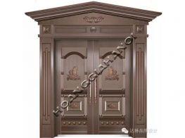 Cửa cổng đúc bằng đồng chất lượng