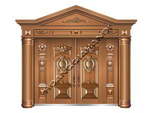 Cửa cổng đồng đúc cao cấp