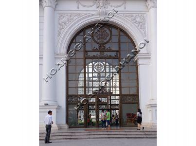 Ngắm nhìn những mẫu cổng đồng đúc dành cho nhà thờ họ, cổng nhà thờ tổ, cổng từ đường
