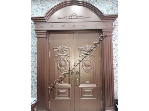 Cửa cổng đồng đúc