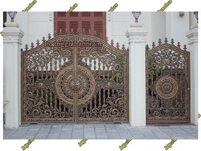 Phong cách của cổng nhôm đúc - Nhôm đúc Hoàng Gia