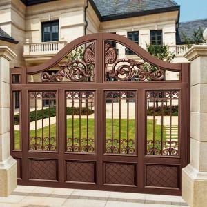 Xu hướng thiết kế cổng nhà đẹp bằng đồng năm 2019