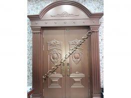 Cửa cổng nhôm đúc, đồng đúc đẹp mẫu cửa cổng thiết kế đẹp