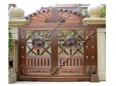 Thi công cổng đồng đúc tại An Giang