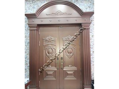 Thi công cổng đồng đúc tại Hưng Yên