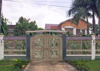 Thi công cổng đồng đúc tại Kiên Giang