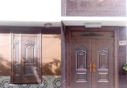 Thi công cổng đồng đúc tại Quảng Ngãi