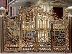 Thi công cổng đồng đúc tại Vĩnh Long