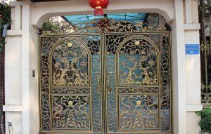 Thi công cổng đồng đúc tại Vĩnh Phúc