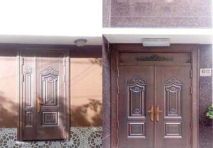 Thi công cổng đồng đúc tại Trà Vinh