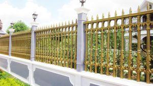 Thi công hàng rào đồng đúc tại An Giang