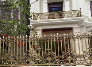 Thi công hàng rào đồng đúc tại Bắc Giang