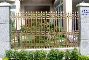 Thi công hàng rào đồng đúc tại Bạc Liêu