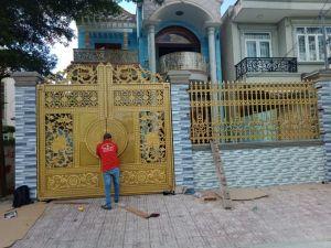 Thi công hàng rào đồng đúc tại Bắc Ninh