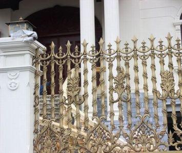 Thi công hàng rào đồng đúc tại Đà Nẵng