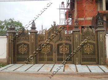 Những mẫu cửa cổng nhôm đúc đang được ưu chuộng