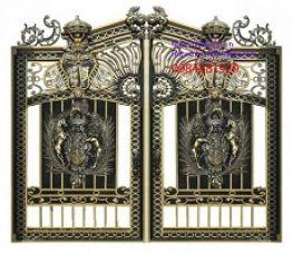 Cửa cổng nhôm đồng đúc uy tín, chất lượng tại Hoàng Gia Hà Nội