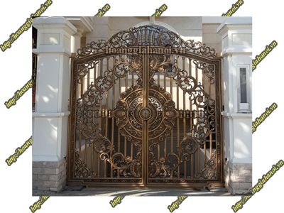 Mẫu cổng nhôm đúc Buckingham