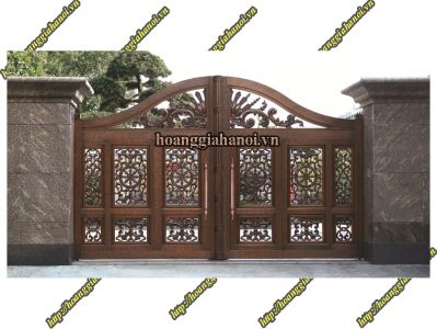 17 Mẫu cổng nhôm đúc tuyệt đẹp thể hiện sự sang trọng và tiện nghi