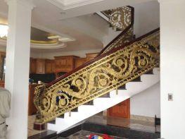 Cầu thang nhôm đúc chất lượng cao