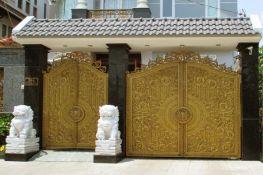 Thi công cửa nhôm đúc tại Cao Bằng