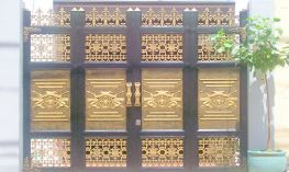 Thi công cửa nhôm đúc tại Lào Cai