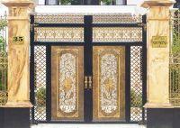Thi công cửa nhôm đúc tại Nghệ An