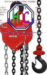Pa lăng xích Yato YT-58951 kéo tay 1 tấn