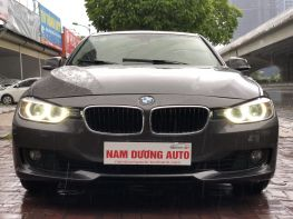 BMW 320i 2013 model 2014 màu nâu