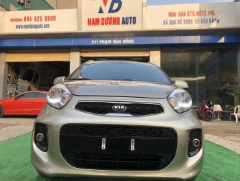 Kia morning S Luxury 2018 model 2019 cực mới