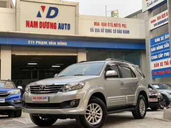 Fortuner 4x2 AT 2013 rất đẹp