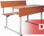 Bàn học sinh liền ghế tựa lưng (có yếm) BSV 11T-BY