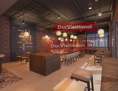 Thiết kế - sản xuất - thi công quán cafe