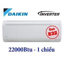 Điều hòa - Máy lạnh Daikin FTKC60NVMV/RKC60NVMV - Treo tường, 1 chiều, 24000 BTU, Inverter