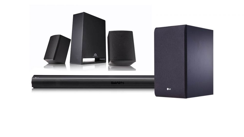 Loa Sound Bar LG SJ4R 4.1