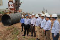 Tổng giám đốc TCT kiểm tra công trường cầu Phật Tích - Đại Đồng Thành đầu xuân mới 2019.