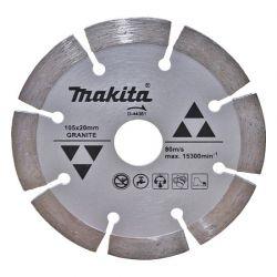 Lưỡi cắt đá Granite Makita 105x1.6x20mm