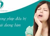 Điều trị bệnh khớp thái dương hàm