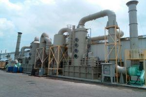 Xử lý khí thải lò hơi