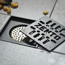 Phễu Thoát Sàn Chống Mùi Black Series 12cm NX570-1B