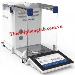 Cân phân tích  0.01mg/ 0.1mg (61g/ 125g) model: HM 125SM-FR hãng sản xuất : PRECISA - Thuỵ Sỹ