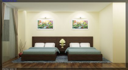 Phòng đôi khách sạn 1