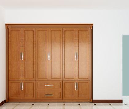 Tủ áo 2750X2500 Phòng ngủ con