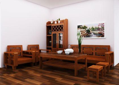 Kệ trang trí phòng khách 4