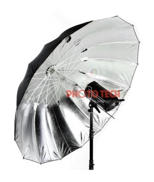 UMBRELLA BLACK SILVER 105 JINBEI