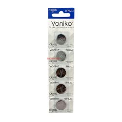 PIN VONIKO USA LITHIUM CR2032 3V VỈ 5 VIÊN