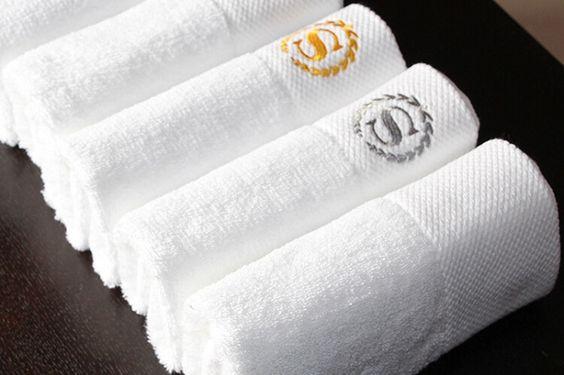 khăn khách sạn thêu logo cao cấp