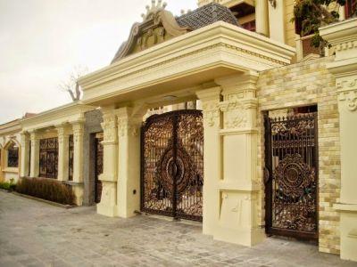 3 mẫu thiết kế cổng biệt thự không chê bào đâu được