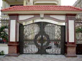 Mẫu cổng biệt thự, lâu đài cổ điển đẹp
