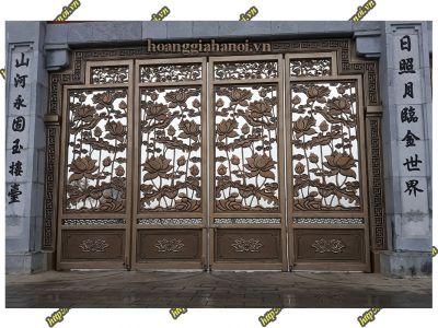 Cổng nhôm đúc phong cách Baroque